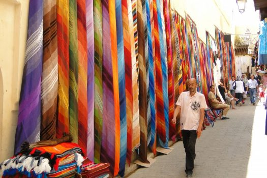 Colorful_Cloth_for_Sale_-_Medina_(Old_City)_-_Fez_-_Morocco